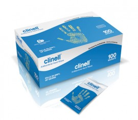 Clinell Individual Antibacterial Wipe