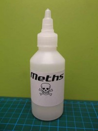 100ml Fuel Bottle (Meths, Alcohol)
