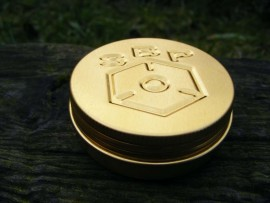30ml Spill Proof Meths/Alcohol Burner Gold