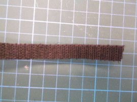 1M of double sided hook & loop 10mm wide