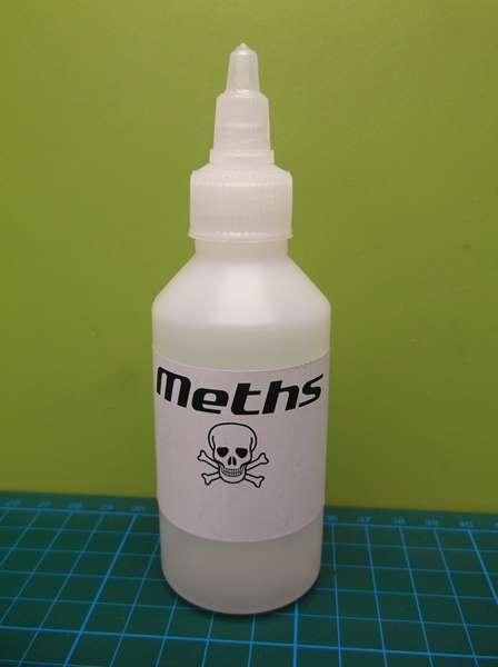 100ml Fuel Bottle (Meths, Alcohol) - speedsterstoves